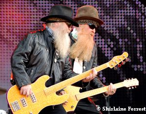 Legends of legends - ZZ Top at Download 2009