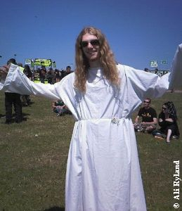 Jesus. He likes Faith No More. No, really.